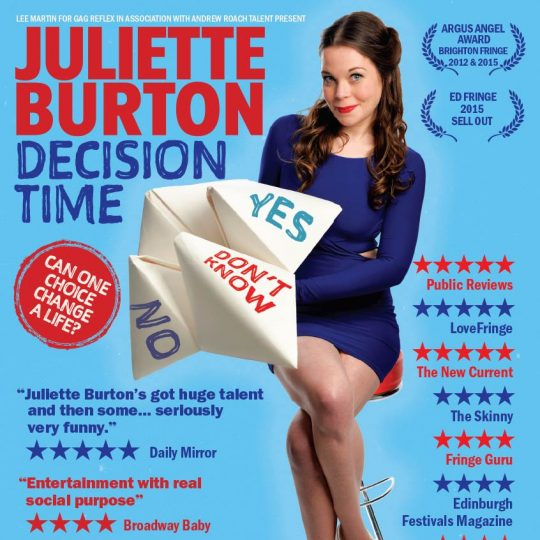 Juliette Burton Decision Time